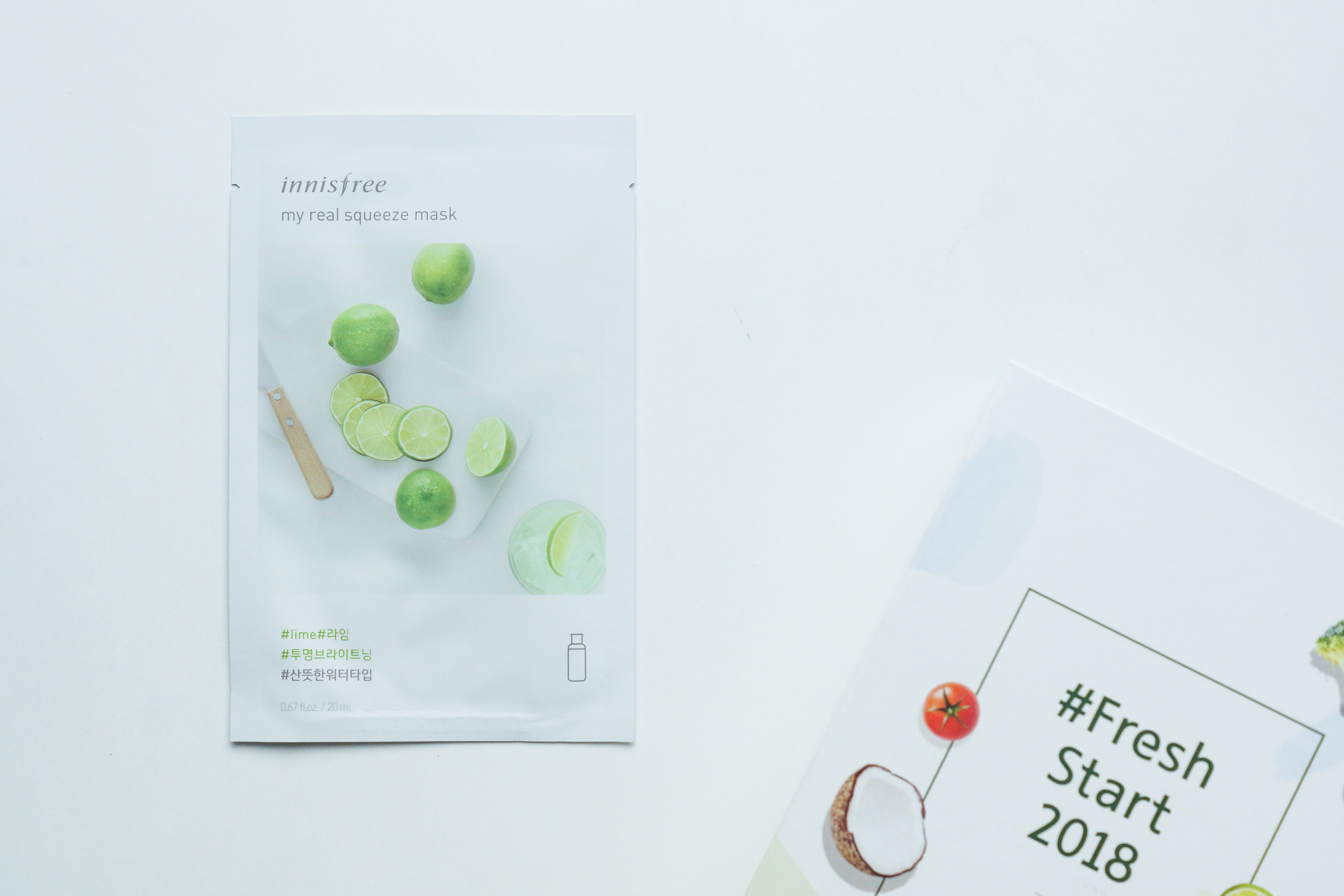 Innisfree My Real Squeeze Masks 18 Mask Lime Samanthas Palette